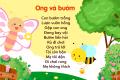 Tuyển tập thơ cho trẻ mầm non hay, ngắn gọn, dễ thương nhất