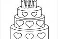 [BỘ] tranh tô màu bánh sinh nhật cho bé yêu thỏa sức sáng tạo
