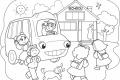 Download 999+ tranh tô màu trường mầm non đơn giản, dễ thương cho bé