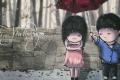 Ảnh bìa hoạt hình dễ thương về tình yêu được chia sẻ nhiều nhất